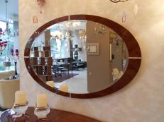 Зеркало овальное Minotti Collezioni 50.23