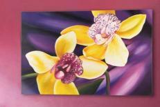Декоративная панель Pintdecor P3038 Орхидея 120x80см