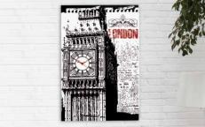Часы Pintdecor BIG BEN P3562