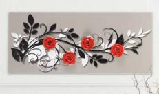 Декоративная панель Pintdecor LE QUATTRO ROSE P3278