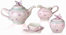Сервиз Villari Marie Antoniette Butterfly розовый