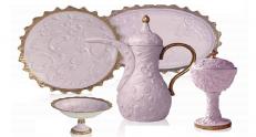 Сервиз Villari Marie Antoniette Tea Time Taormina розовый