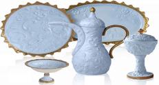 Сервиз Villari Marie Antoniette Tea Time Taormina голубой