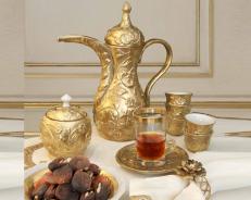 Сервиз Villari Marie Antoniette Tea Time Taormina золотой