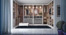 Гардеробная комната FM Bottega d'Arte Palladio beauty на три стены